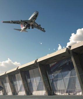 Budynki pracownicze trzeciego lotniska w Stambule zostały ukończone przez Karmod