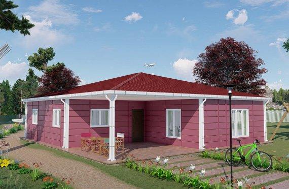 Domy prefabrykowane 123 m2