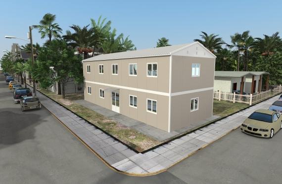 Modułowy budynek biurowy 214 m²