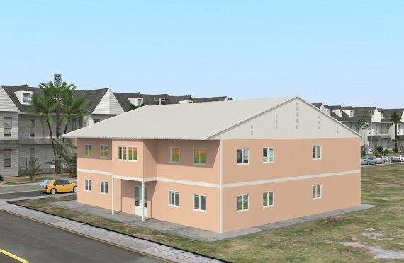 Prefabrykowana sala lekcyjna 594 m²