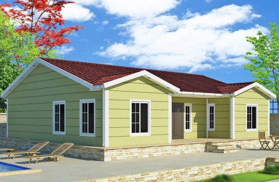 Dom z prefabrykatów 126 m²