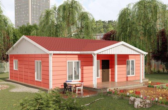 Domy prefabrykowane 100 m2