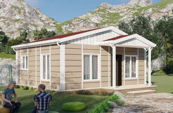 Domy prefabrykowane 45 m2