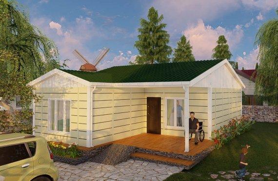 Domy prefabrykowane 73 m2