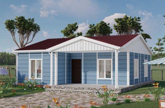 Domy prefabrykowane 82 m2