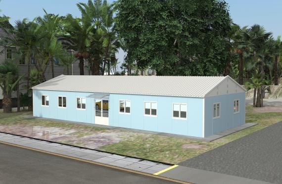Modułowy budynek biurowy 146 m²