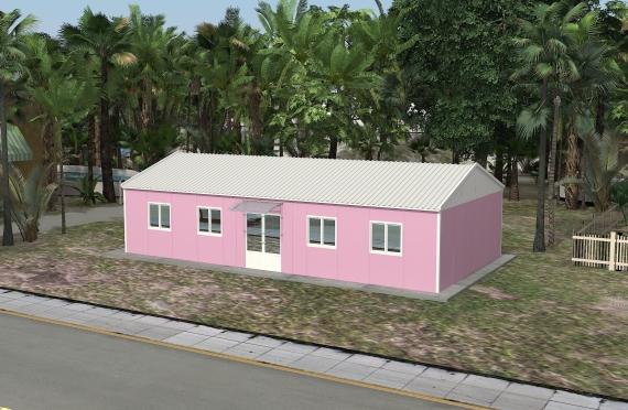 Modułowe budownictwo biurowe 98 m²