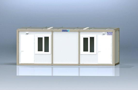 Kontener biurowy typu Flat Pack K2001