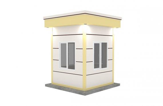 Nowoczesna kabina z prefabrykatów 200x200