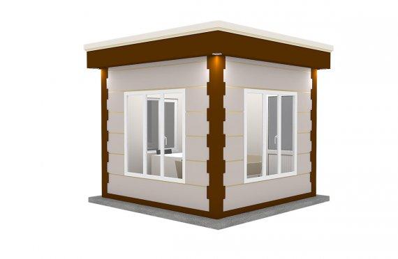 Nowoczena kabina z prefabrykatów 300x300