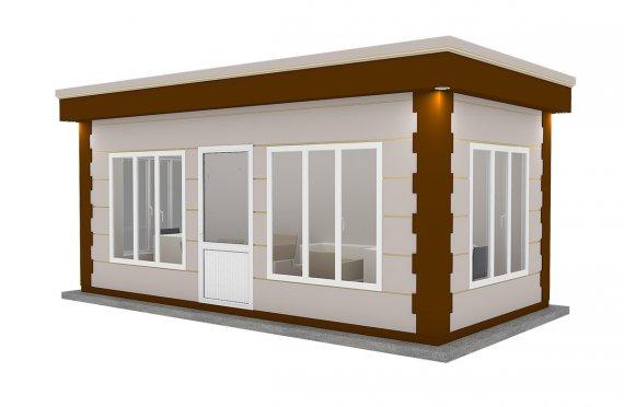 Nowoczena kabina z prefabrykatów 300x600