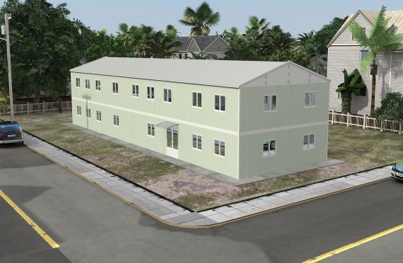 Modułowe budynki biurowe 463 m²