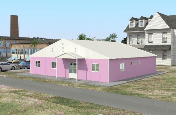 Laboratorium modułowe 222 m²