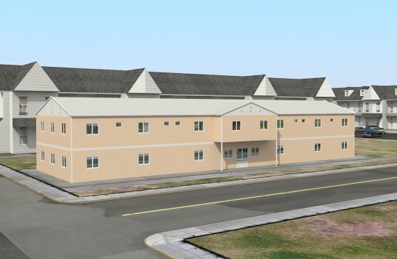 Modułowy obiekt socjalny 793 m²