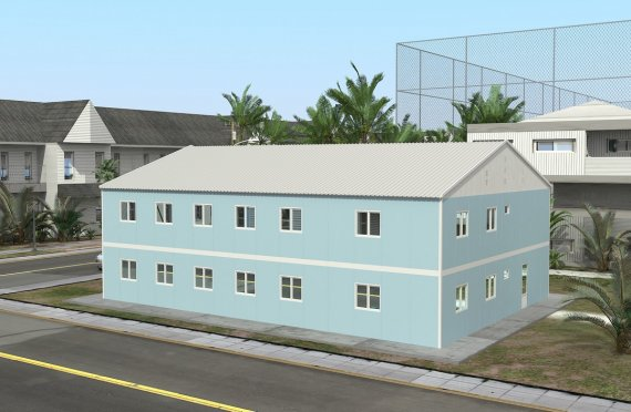 Szpital modułowy 506 m²