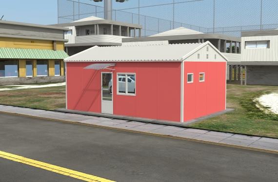 Modułowy budynek biurowy 40 m²