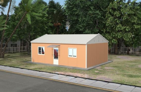 Modułowe budownictwo biurowe 90 m²