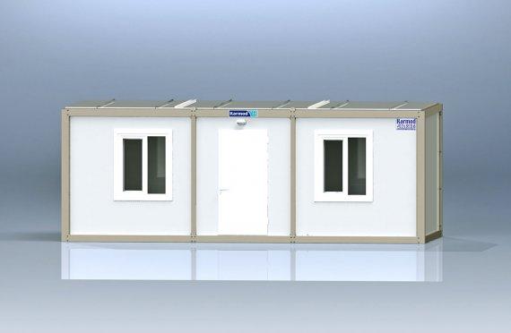 Biurowy kontener typu flat pack K2002