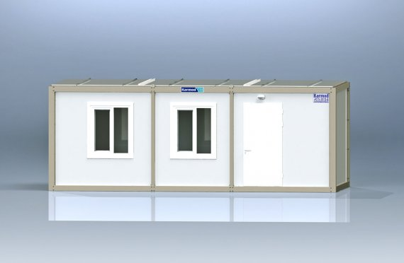 Biurowy kontener typu flat pack K2005