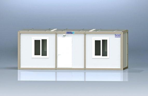 Biurowy kontener typu flat pack K7001