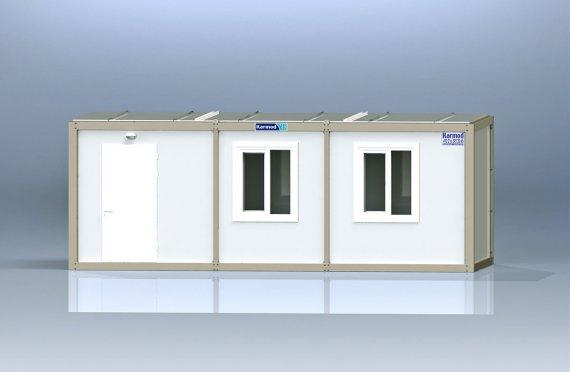 Biurowy kontener typu flat pack K8001