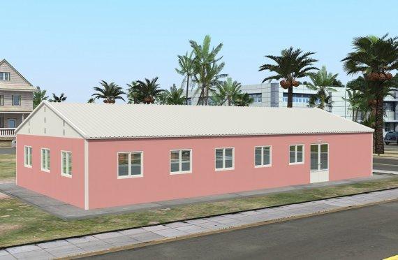 Prefabrykowana komercyjna kuchnia 170 m²