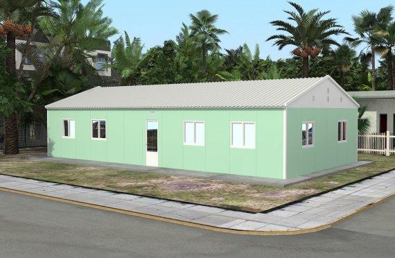 Przenośna sala lekcyjna 117 m²