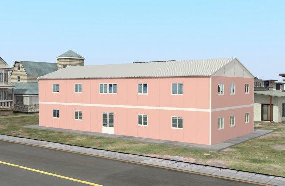 Przenośna sala lekyjna 480 m²
