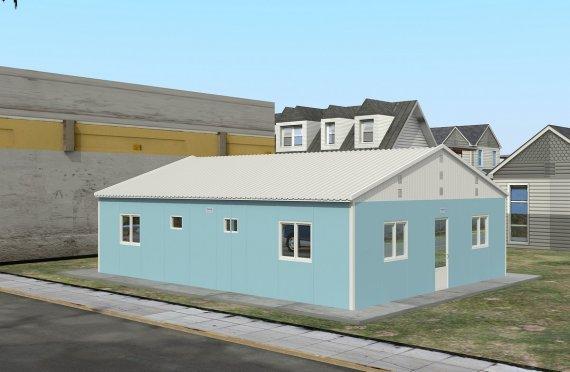 Modułowa jednostka noclegowa 102 m²