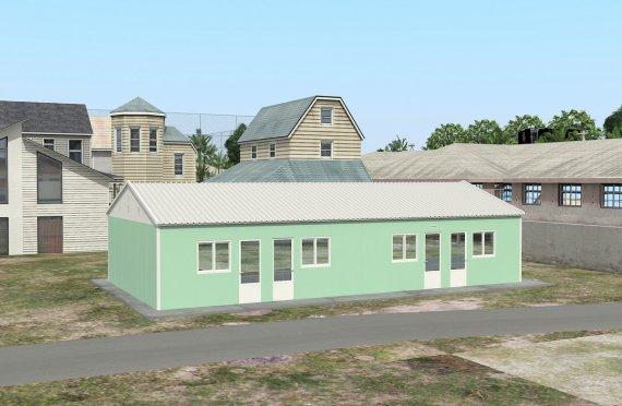 Modułowa jednostka noclegowa 117 m²