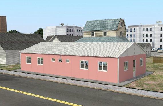 Modułowa jednostka noclegowa 148 m²