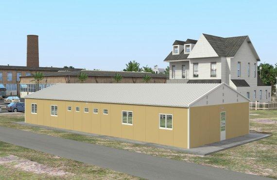 Modułowa jednostka noclegowa 193 m²