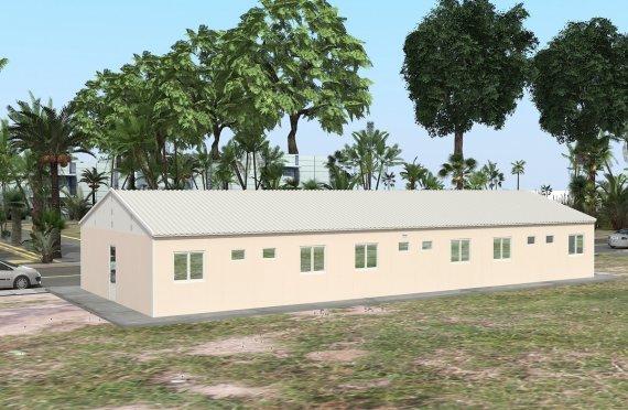 Modułowa jednostka noclegowa 204 m²