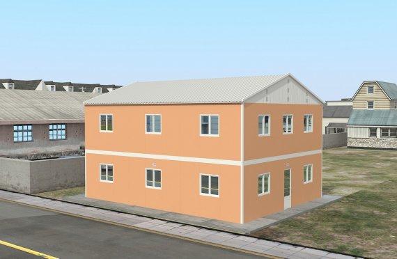 Modułowa jednostka noclegowa 206 m²