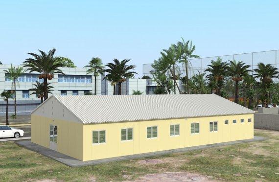Modułowa jednostka noclegowa 232 m²