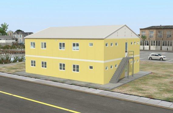 Modułowa jednostka noclegowa 348 m²
