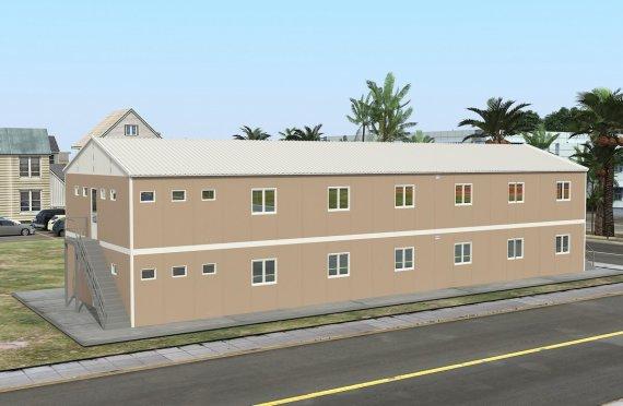 Modułowa jednostka noclegowa 474 m²