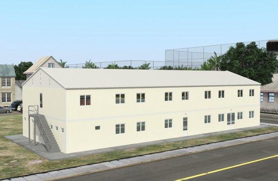 Modułowa jednostka noclegowa 662 m²