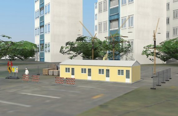 Modułowa jednostka noclegowa 79 m²