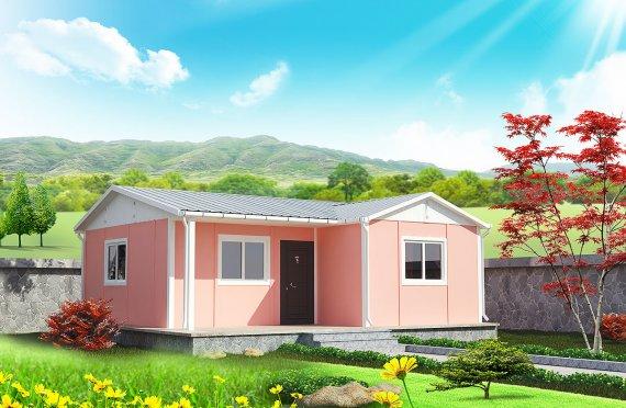 Dom z prefabrykatów 49 m²