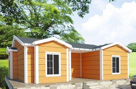 Dom z prefabrykatów 98 m²