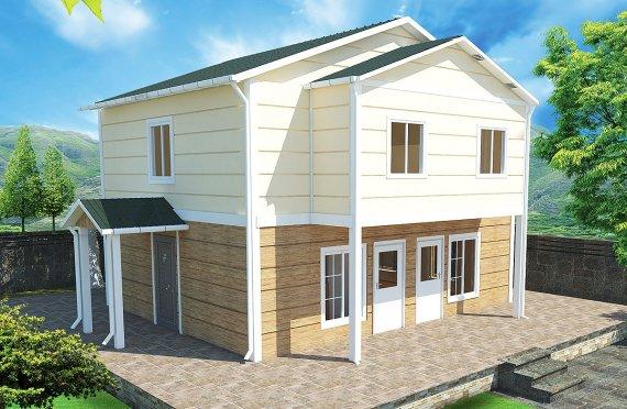 Prefabrykowany dom 114 m²