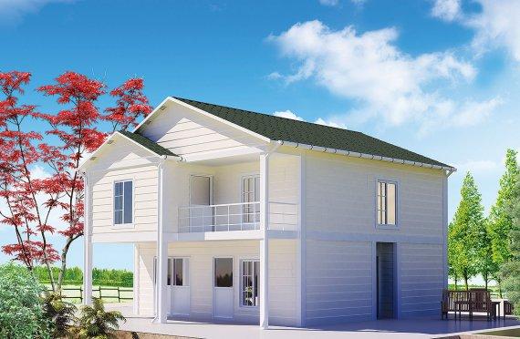 Prefabrykowany dom 130 m²
