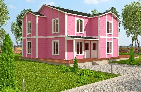 Prefabrykowany dom 147 m²