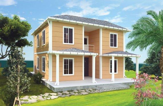 Prefabrykowany dom 148 m²