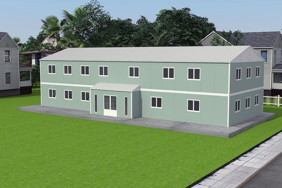 Modułowy budynek biurowy 415 m²