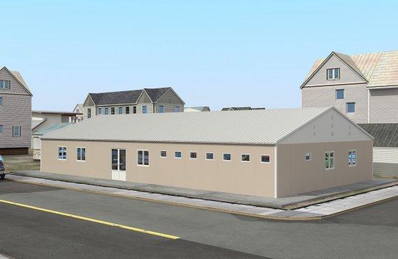 Szpital modułowy 275 m²