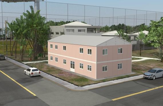 Modułowy budynek biurowy 340 m²