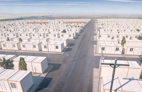 Tymczasowe Obozy Dla Uchodźców