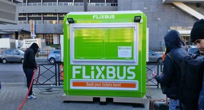 Kasy biletowe Flixbus od firmy Karmod